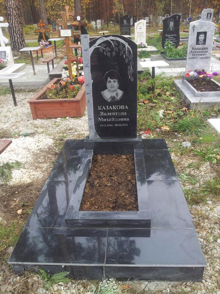 Стоимость установки памятника на кладбище султаевский гранит